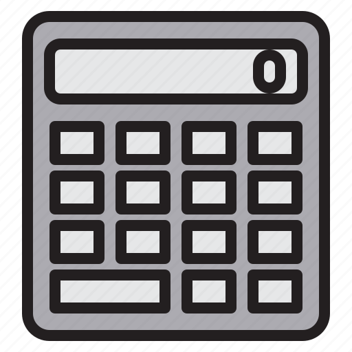 appliance, calculator, device, electronic, household icon