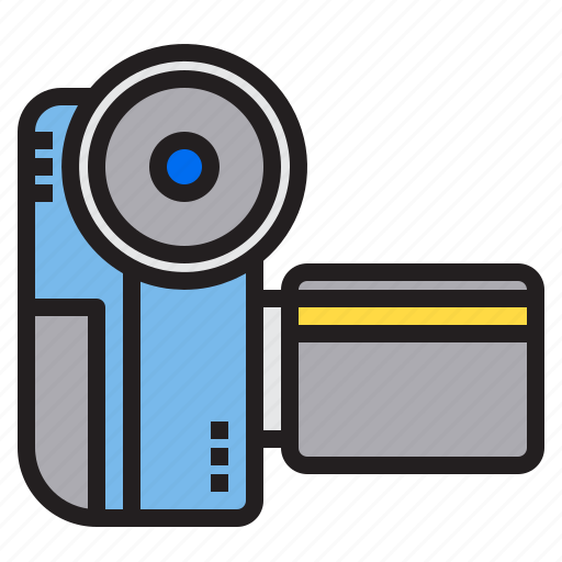 appliance, camcoder, device, electronic, household icon
