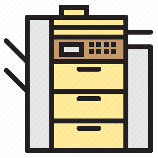 appliance, copy, device, electronic, household, machine icon