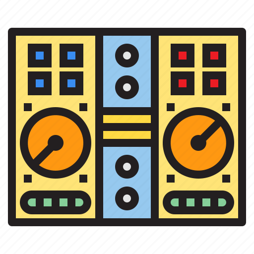 appliance, device, dj, electronic, household, mixer icon