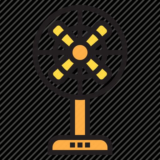 appliance, device, electronic, fan, household icon