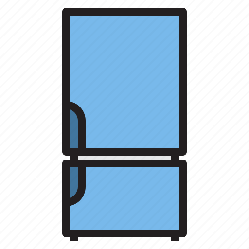 appliance, device, electronic, fridge, household icon