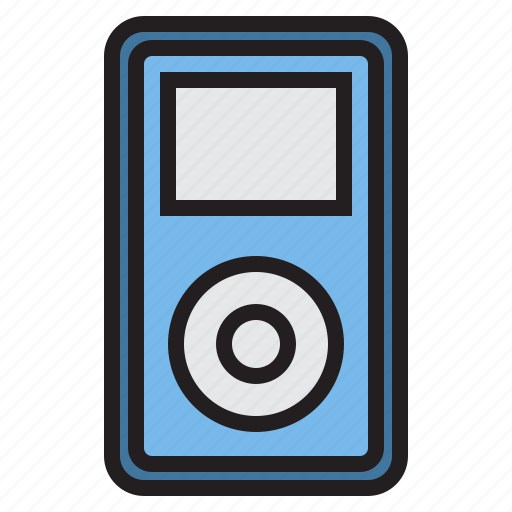 appliance, device, electronic, household, music, player icon