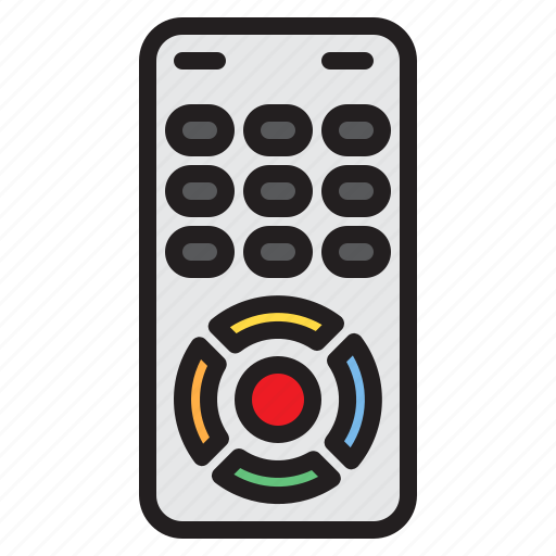 appliance, device, electronic, household, remote icon