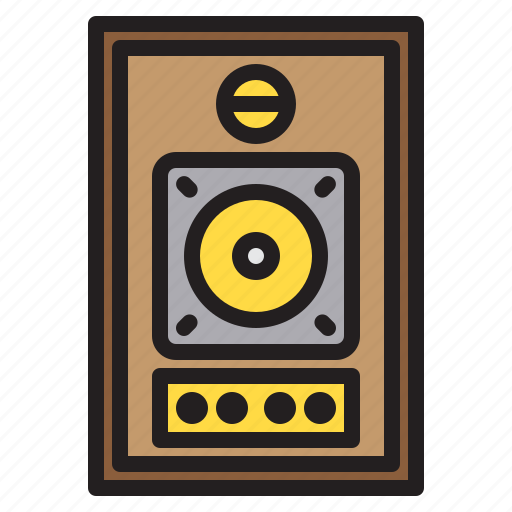 appliance, device, electronic, household, speaker icon