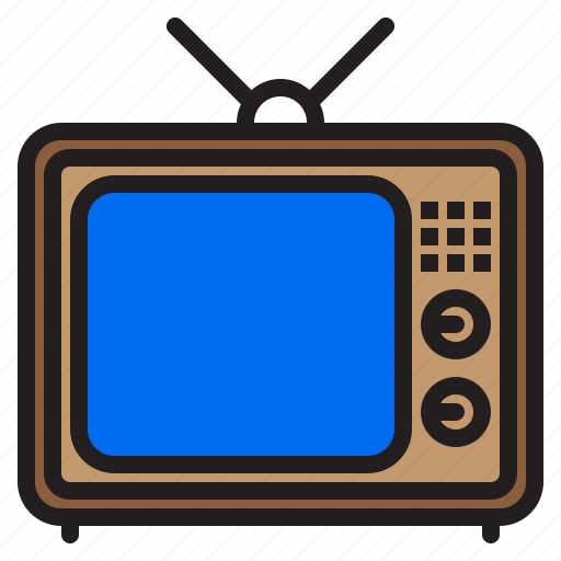 appliance, device, electronic, household, television icon