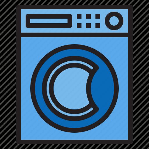 appliance, device, electronic, household, machine, waching icon