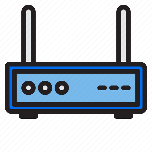 appliance, device, electronic, household, wifi icon