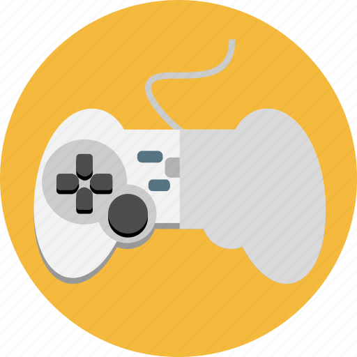 controller, devices, game, joystick, play icon