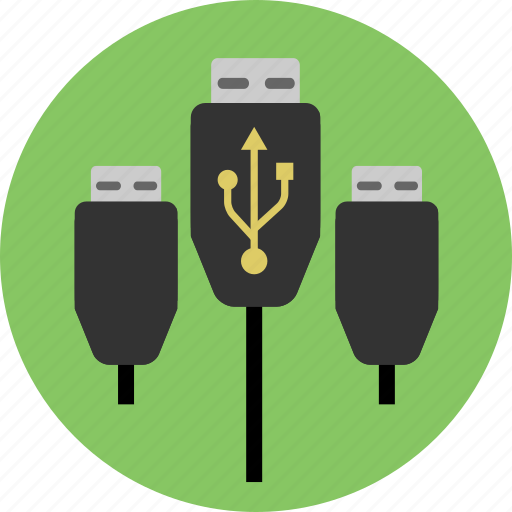 cable, cables, connect, devices, usb icon