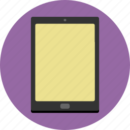 devices, ipad, tablet, touch screen icon