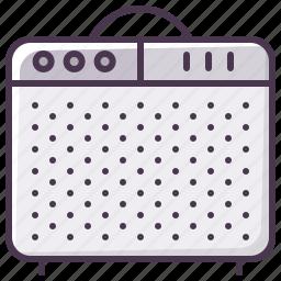 amp, box, guitar-amp, guitar-amplifier, instrument, sound amplifier, sound-producer icon