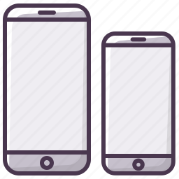 device, iphone, mobilephone, phone, size, smartphone, telephone icon