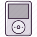 audio, electronics, ipod, music, player, sound, technology icon