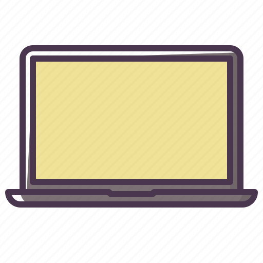 computer, device, laptop, macbook, monitor, screen, technology icon