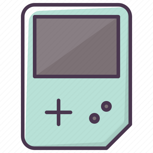 entertainment, game, game device, gameboy, video game icon