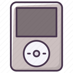 audio, electronics, ipod, music, player, sound, technology icon