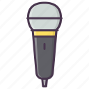 audio, device, mic, microphone, music, record, sound icon