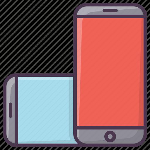 device, iphone, mobilephone, phone, rotate, smartphone, telephone icon