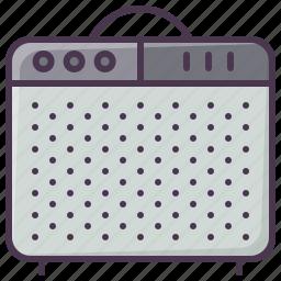 amp, guitar-amp, guitar-amplifier, instrument, sound amplifier, sound-producer, speaker icon