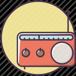 appliances, device, electronics, equipment, music, radio, sound icon