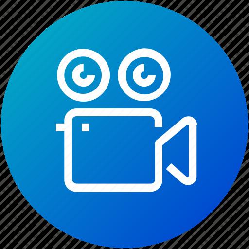 camera, device, film, roll, video icon
