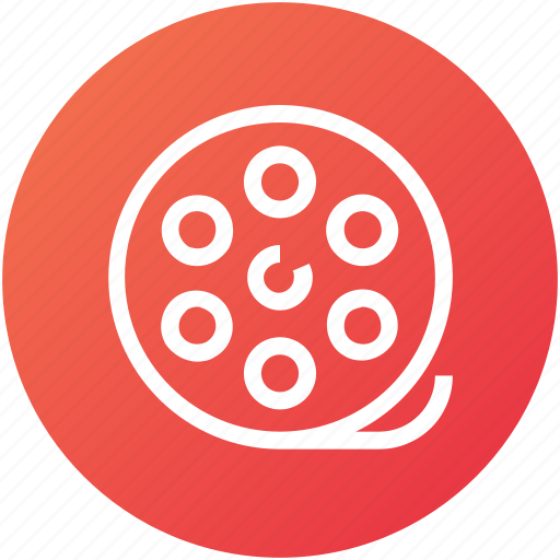 camera, device, film, reel, roll, video icon