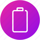 battery, device, electric, empty, energy icon