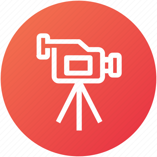 camcorder, camera, device, shooting, video icon