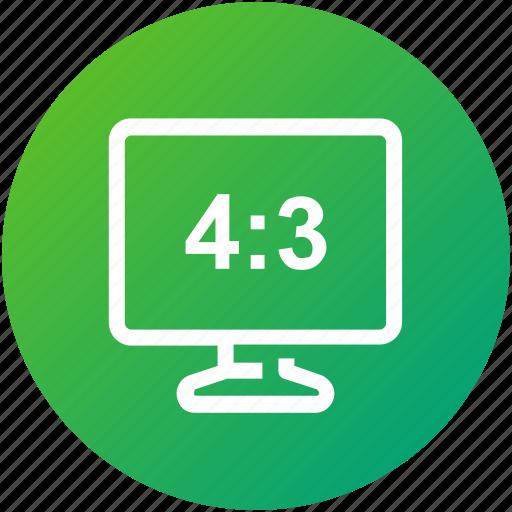 aspect, device, display, ratio, screen icon