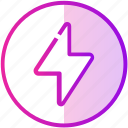 bolt, charge, electric, flash, lighting icon