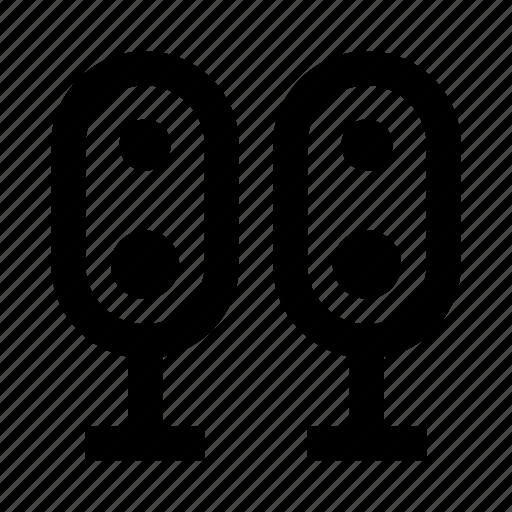 audio, music, speakers, system icon