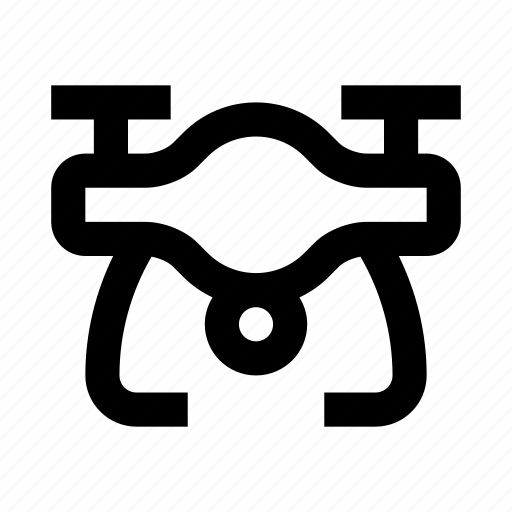 copter, drone, quadcopter, unmanned icon