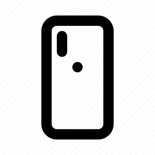 back, device, iphone, smartphone, x icon