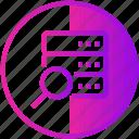 data, database, device, search, server, sql