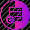 data, database, device, server, settings