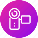 camcorder, camera, device, photography, videocamera icon