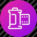 camera, device, film, photo, reel, roll icon