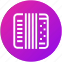 accordion, audio, device, instrument, music icon