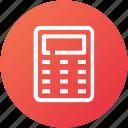 calculate, calculation, calculator, device, math icon