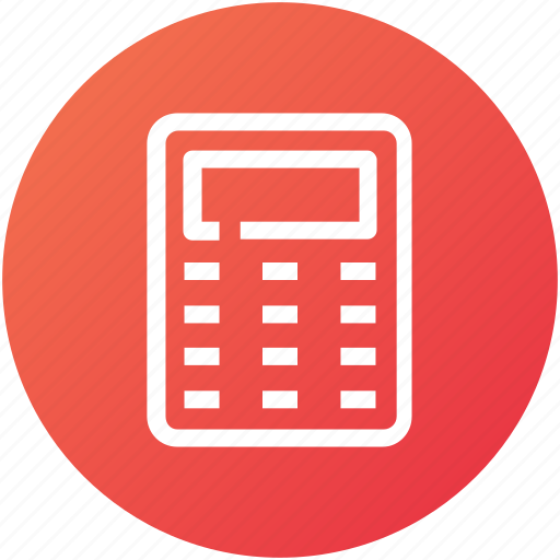 calculate, calculation, calculator, device, math icon