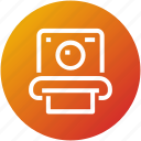 camera, device, photography, picture, polaroid icon