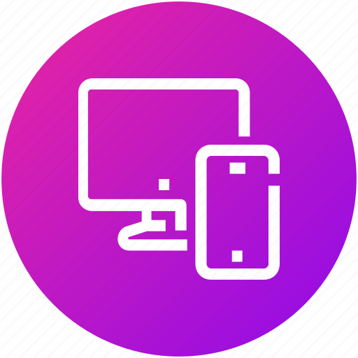 computer, devices, mobile, phone, screen icon
