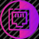 connection, electric, ethernet, internet, port