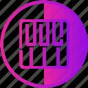 audio, device, keyboard, music, piano icon
