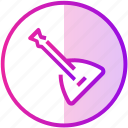 audio, balalaika, device, instrument, music icon