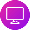 device, display, entertainment, monitor, screen, television icon