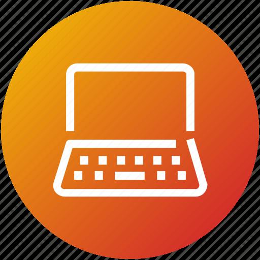 computer, device, laptop, macbook, probook icon
