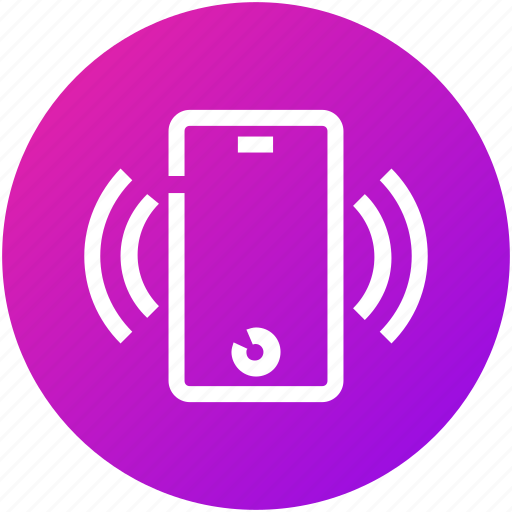 cellphone, device, mobile, phone, ring, smartphone icon