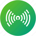 antenna, internet, signals, waves, wifi icon